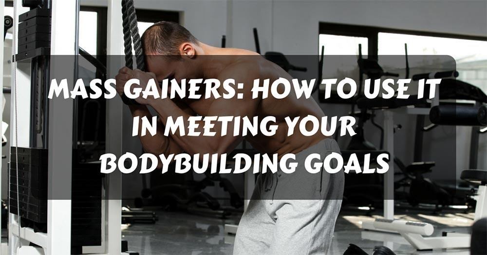 How to use mass gainers