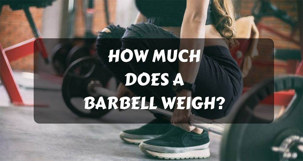 how much does a barbell weigh