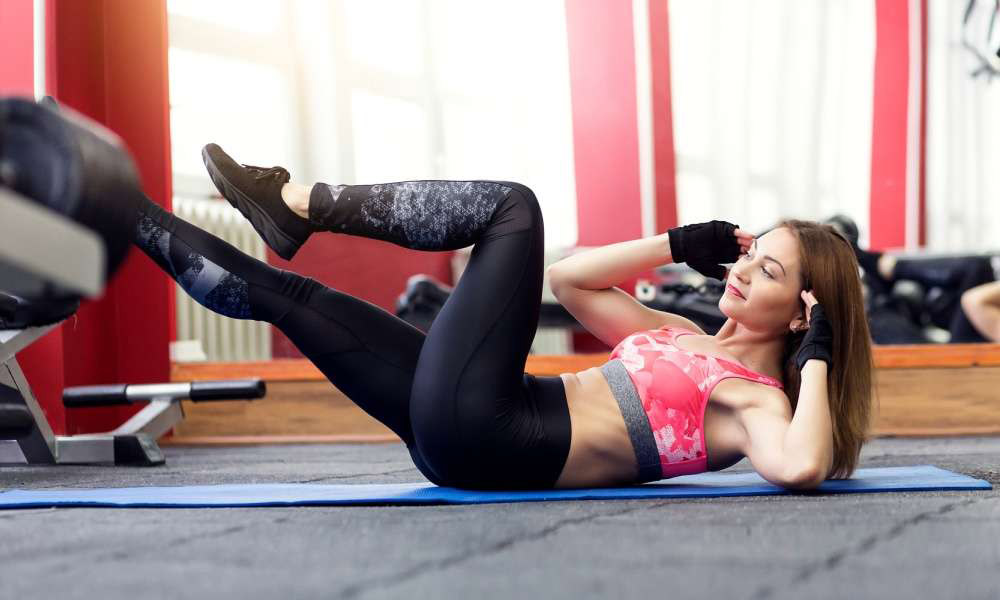 How To Do Butterfly Crunches in 2 Ways