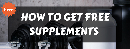 how to get free supplements